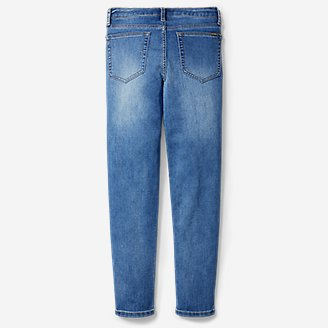 Thumbnail View 2 - Boys' Knit Flex Jeans - Slim Straight