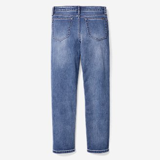 Thumbnail View 2 - Boys' Knit Flex Jeans - Relaxed