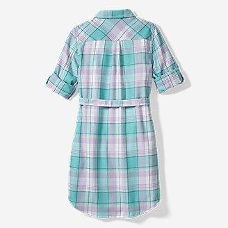 Thumbnail View 2 - Girls' Plaid Shirt Dress
