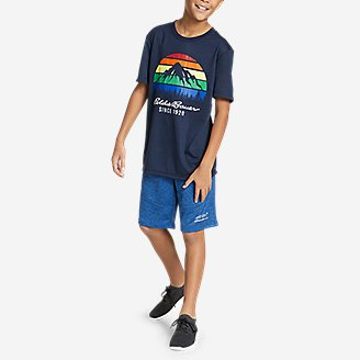 Thumbnail View 2 - Boys' Summer Graphic T-Shirt