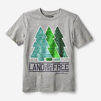 Thumbnail View 3 - Boys' Americana Flip Sequin T-Shirt