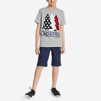 Thumbnail View 2 - Boys' Americana Flip Sequin T-Shirt
