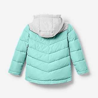 Thumbnail View 2 - Toddler Girls' Classic Down Hooded Jacket