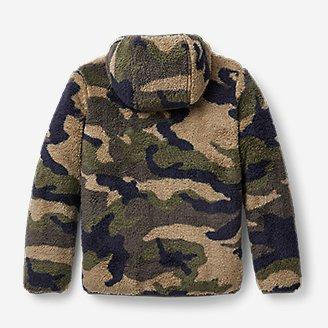 Thumbnail View 2 - Kids' Quest Plush Fleece Hooded Jacket - Print