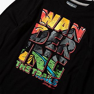 Thumbnail View 2 - Boys' Graphic Long-Sleeve T-Shirt