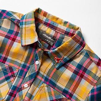 Thumbnail View 2 - Girls' Stine's Favorite Flannel Shirt - Plaid