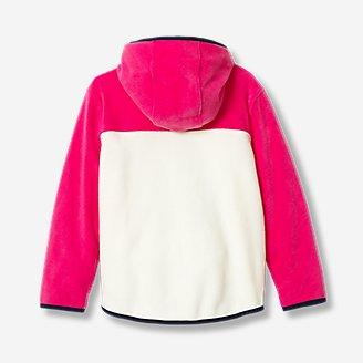 Thumbnail View 2 - Girls' Quest Fleece Full-Zip Hooded Jacket