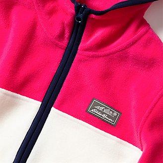Thumbnail View 3 - Girls' Quest Fleece Full-Zip Hooded Jacket