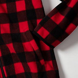 Thumbnail View 2 - Boys' Quest Fleece Full-Zip Jacket - Pattern