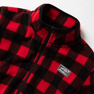 Thumbnail View 3 - Boys' Quest Fleece Full-Zip Jacket - Pattern