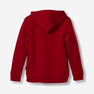 Thumbnail View 2 - Boys' Camp Fleece Lined Hoodie