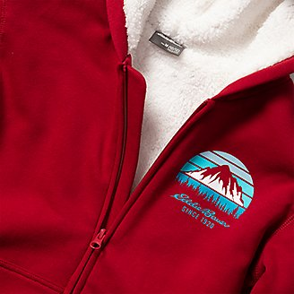 Thumbnail View 3 - Boys' Camp Fleece Lined Hoodie