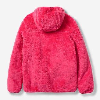 Thumbnail View 2 - Kids' Quest Plush Fleece Hooded Jacket