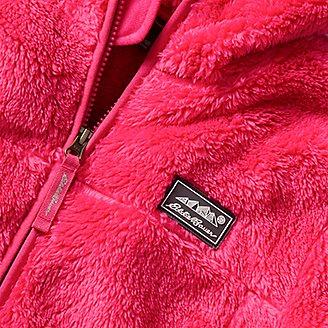 Thumbnail View 3 - Kids' Quest Plush Fleece Hooded Jacket
