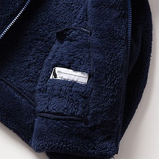 Thumbnail View 3 - Toddler Quest Plush Fleece Hooded Jacket
