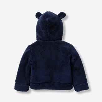 Thumbnail View 2 - Infant Quest Plush Fleece Hooded Jacket
