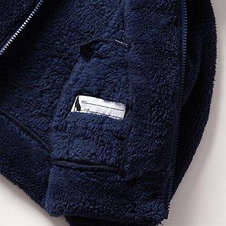 Thumbnail View 3 - Infant Quest Plush Fleece Hooded Jacket