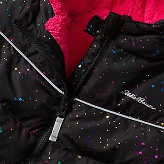 Thumbnail View 3 - Toddler Girls' Classic Down Hooded Jacket