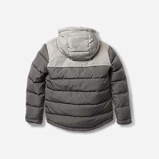 Thumbnail View 2 - Toddler Boys' Classic Down Hooded Jacket
