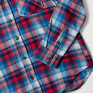 Thumbnail View 2 - Boys' Eddie's Favorite Flannel Shirt - Print