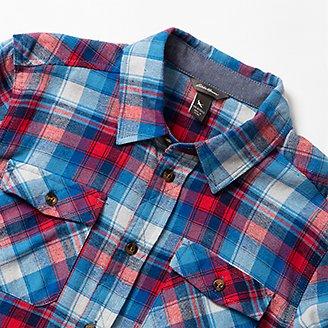 Thumbnail View 3 - Boys' Eddie's Favorite Flannel Shirt - Print