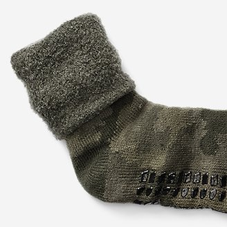 Thumbnail View 2 - Men's Fireside Lounge Socks