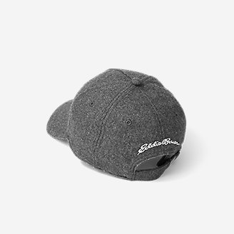 Thumbnail View 2 - Wool-Blend Graphic Cap