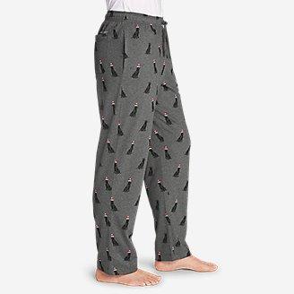 Thumbnail View 3 - Men's Legend Wash Jersey Sleep Pants - Print