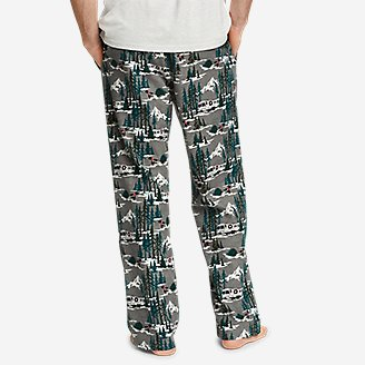 Thumbnail View 2 - Men's Flannel Sleep Pants
