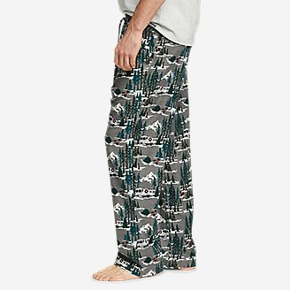 Thumbnail View 3 - Men's Flannel Sleep Pants