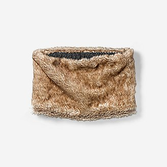 Thumbnail View 2 - Women's Textured Faux Fur Cowl