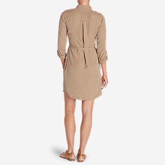 Thumbnail View 2 - Women's Tranquil Shirt Dress - Solid