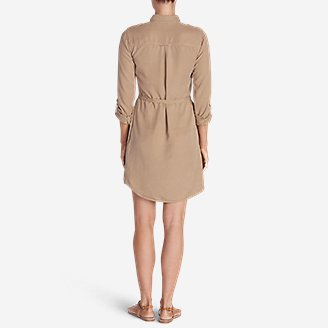 Thumbnail View 3 - Women's Tranquil Shirt Dress - Solid