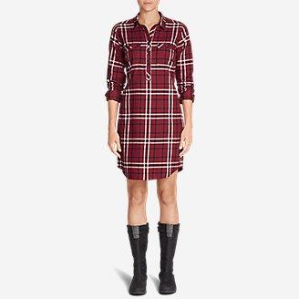 Thumbnail View 3 - Women's Stine's Favorite Flannel Shirt Dress