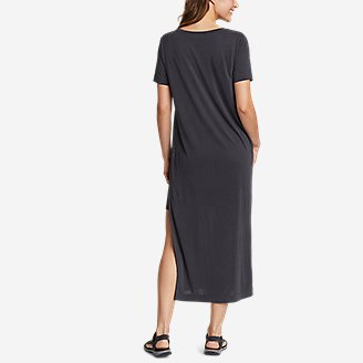 Thumbnail View 2 - Women's Sandwash Short-Sleeve Midi Dress