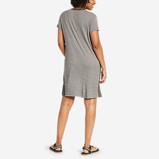 Thumbnail View 2 - Women's Soft Layer Short-Sleeve T-Shirt Dress