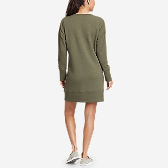 Thumbnail View 2 - Women's Cozy Camp Sweatshirt Dress