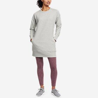 Thumbnail View 3 - Women's Cozy Camp Sweatshirt Dress