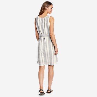 Thumbnail View 2 - Women's Beach Light Linen Midi Dress