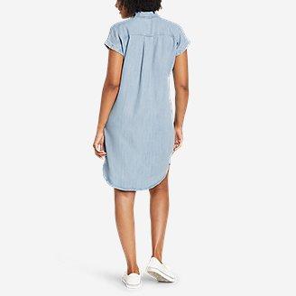 Thumbnail View 3 - Women's Tranquil Shirred Shirt Dress - Solid