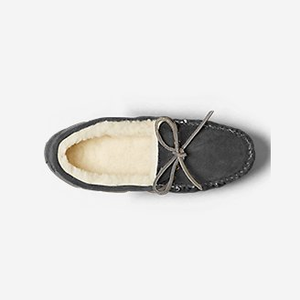 Thumbnail View 3 - Women's Shearling-Lined Moccasin Slipper