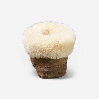 Thumbnail View 2 - Women's Shearling Boot Slipper