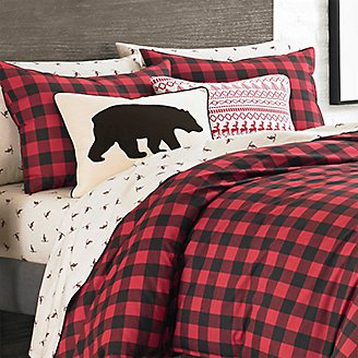 Thumbnail View 2 - Bear Black Breakfast Pillow