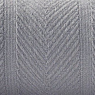 Thumbnail View 2 - Herringbone Cotton Blanket - Chrome