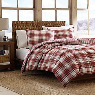 Thumbnail View 3 - Edgewood Duvet/Sham Set - Plaid