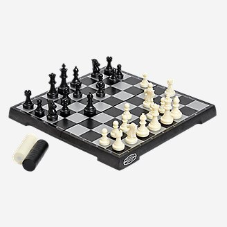 Thumbnail View 2 - Outside Inside Magnetic Chess & Checkers