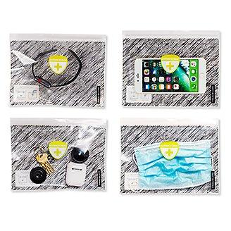 Thumbnail View 3 - Travelon® Anti-Microbial Clean Pouches - Set of 4