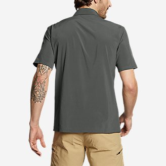 Thumbnail View 2 - Men's Departure Short-Sleeve Shirt