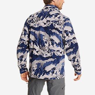 Thumbnail View 2 - Men's Quest Fleece 1/4-Zip Pullover