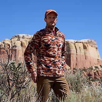Thumbnail View 3 - Men's Quest Fleece 1/4-Zip Pullover